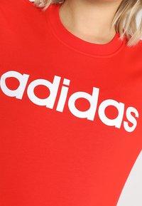 adidas Performance - Sweatshirt - active red/white - 4