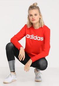 adidas Performance - Sweatshirt - active red/white - 1