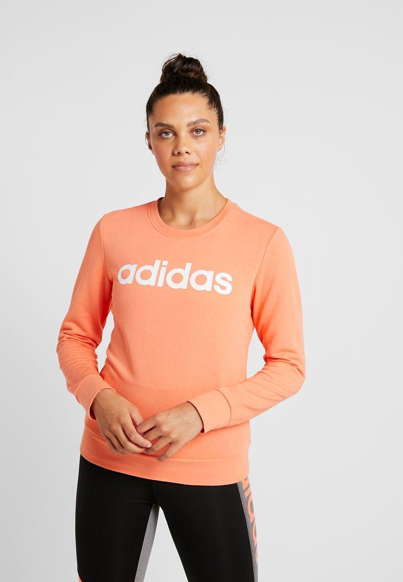 adidas Performance - Sweatshirt - semi coral/white