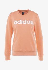 adidas Performance - Sweatshirt - semi coral/white - 3