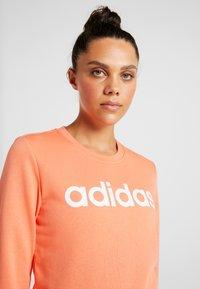 adidas Performance - Sweatshirt - semi coral/white - 4