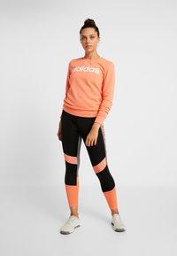 adidas Performance - Sweatshirt - semi coral/white - 1
