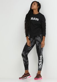 adidas Performance - Sudadera - black/white