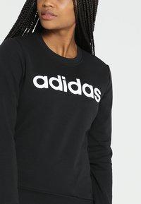 adidas Performance - ESSENTIALS SPORT LONG SLEEVE PULLOVER - Collegepaita - black/white - 5