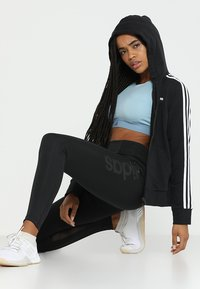adidas Performance - Sweatjacke - black/white - 1