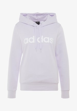 ESSENTIALS LINEAR SPORT HODDIE - Bluza z kapturem - purple tint/white