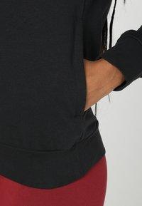 adidas Performance - Bluza z kapturem - black - 3