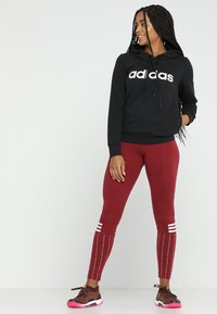 adidas Performance - Bluza z kapturem - black - 1