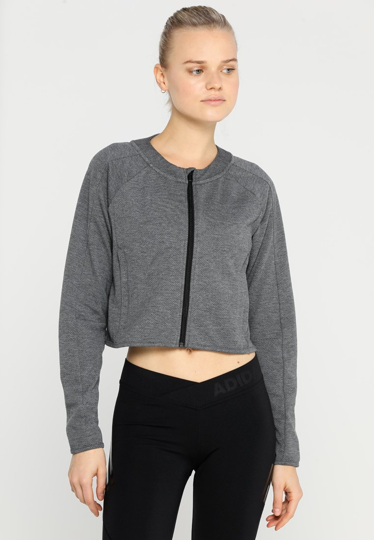 adidas Performance - TRACK - Sweatjakke /Træningstrøjer - black