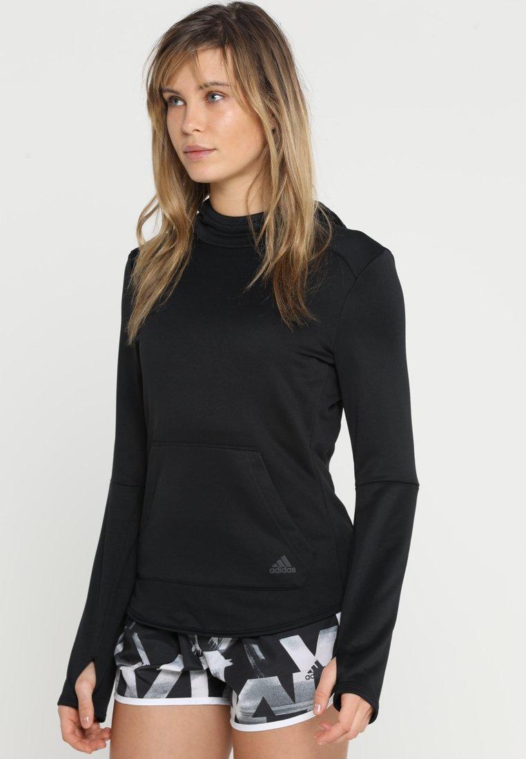 adidas Performance - HOODIE - Kapuzenpullover - black