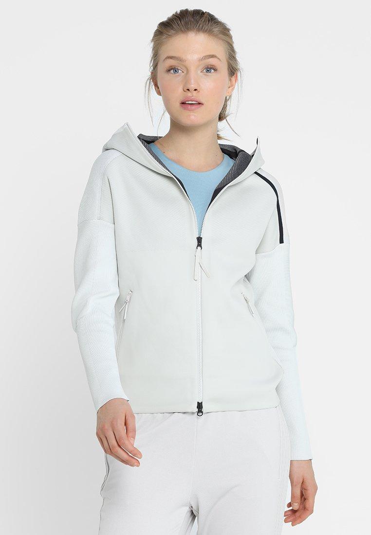 adidas Performance - HOODIE - Training jacket - white