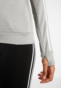 adidas Performance - CLIMALITE RUNNING LONG SLEEVE PULLOVER - Sweatshirt - grey - 6