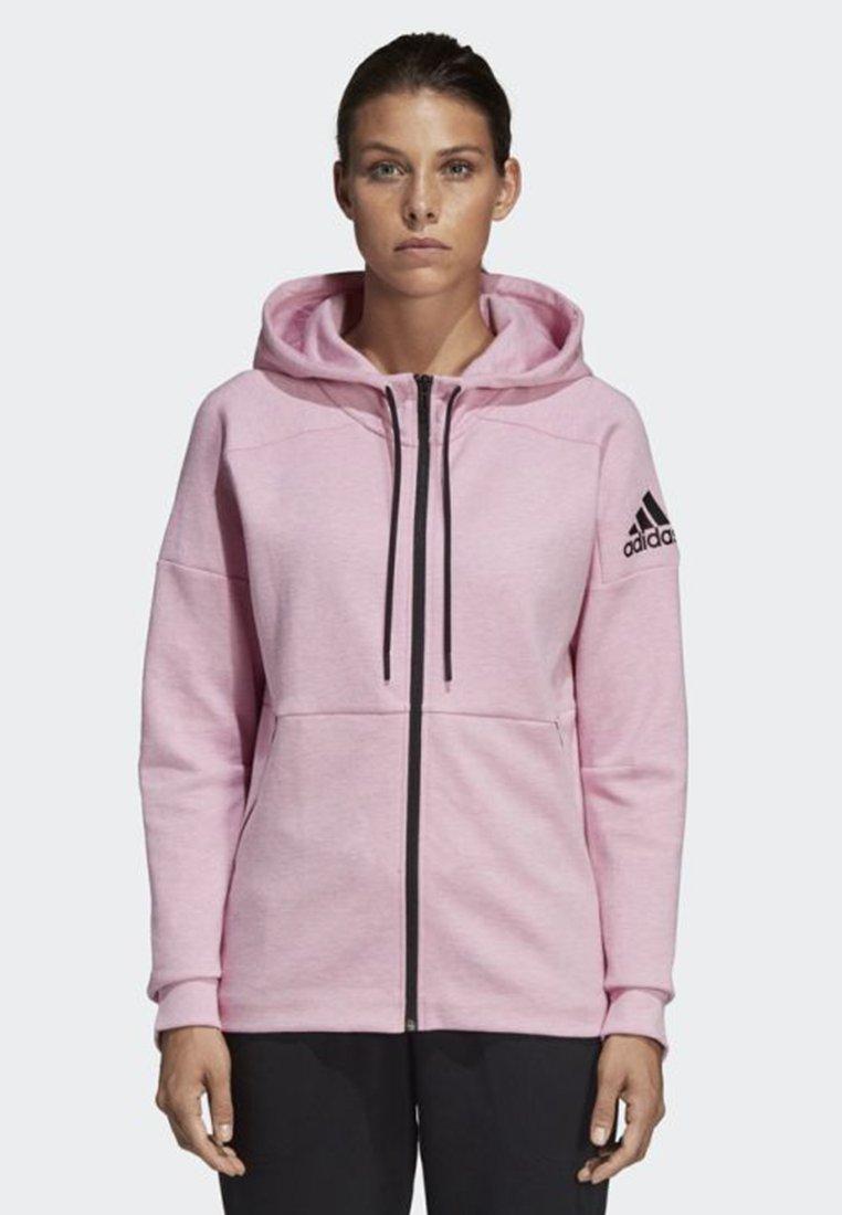 adidas Performance - ID Stadium Hoodie - Collegetakki - pink