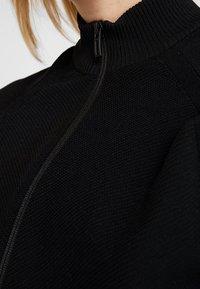 adidas Performance - Huvtröja med dragkedja - black - 5