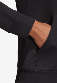 adidas Performance - MIT KAPUZE  - Hoodie met rits - black - 7