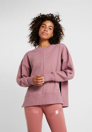 Sweatshirt - blush mauve