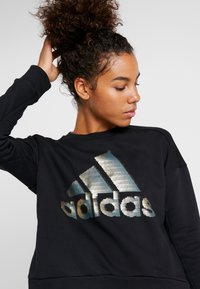 adidas Performance - GLAM  - Felpa - black - 4