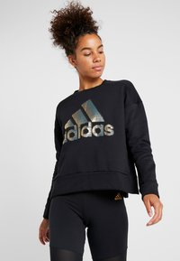 adidas Performance - GLAM  - Felpa - black - 0