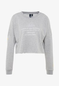 adidas Performance - GLOBAL CREW - Sweatshirt - medium grey heather - 5