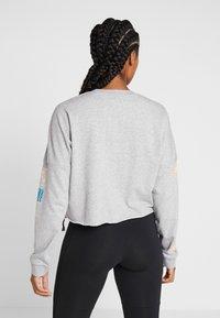 adidas Performance - GLOBAL CREW - Sweatshirt - medium grey heather - 2