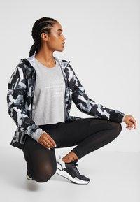 adidas Performance - GLOBAL CREW - Sweatshirt - medium grey heather - 1