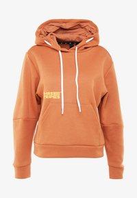 adidas Performance - Jersey con capucha - copper - 5