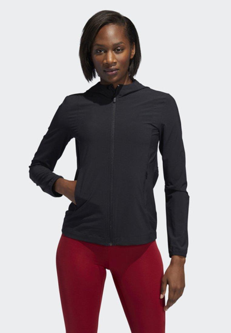 adidas Performance - BADGE OF SPORT JACKET - Training jacket - black