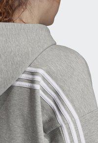 adidas Performance - MUST HAVES 3-STRIPES HOODIE - Hettejakke - grey - 3