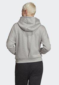 adidas Performance - ID MÉLANGE HOODIE - Hettejakke - grey - 2