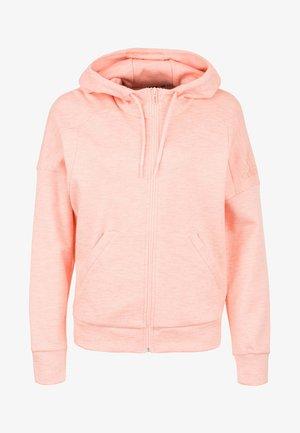 ID MÉLANGE HOODIE - Felpa aperta - glow pink