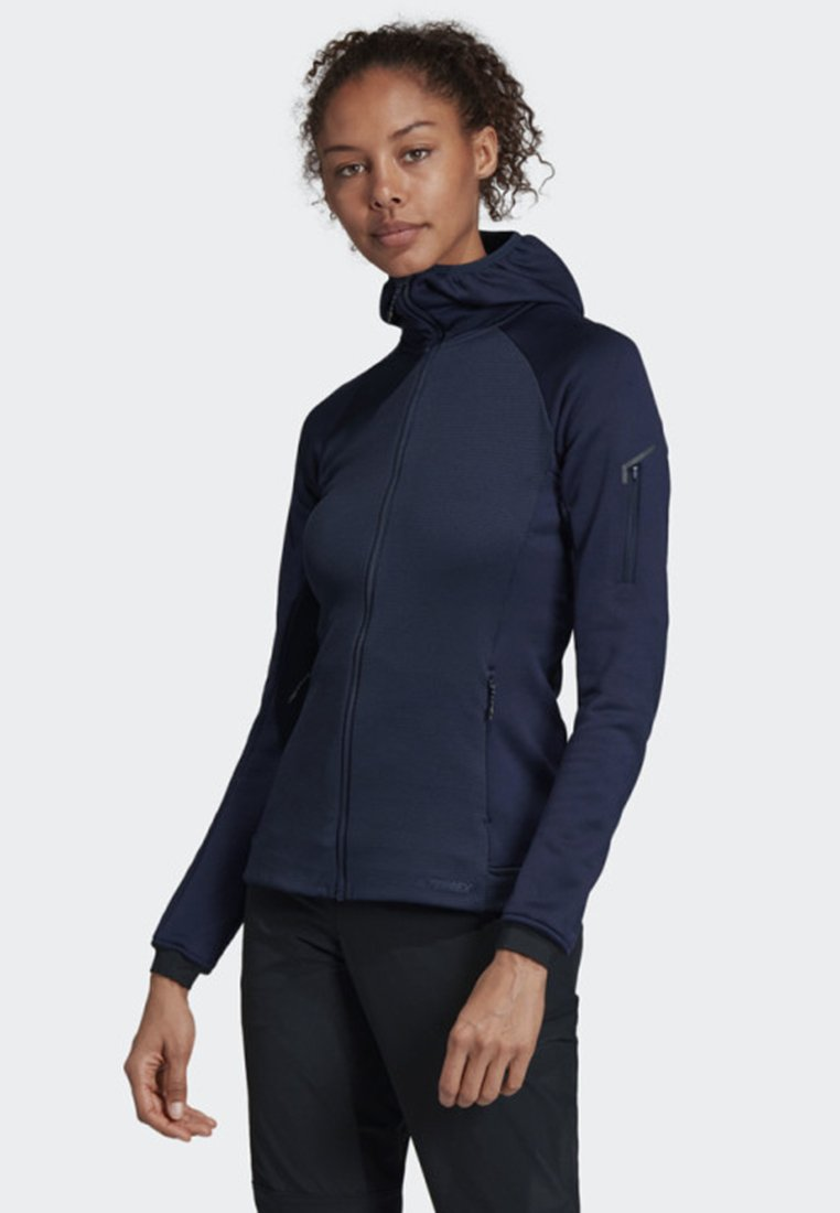 adidas Performance - STOCKHORN HOODED JACKET - Sweatjakke /Træningstrøjer - blue