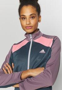 adidas Performance - TRACKTOP - Treningsjakke - blue/purple - 4
