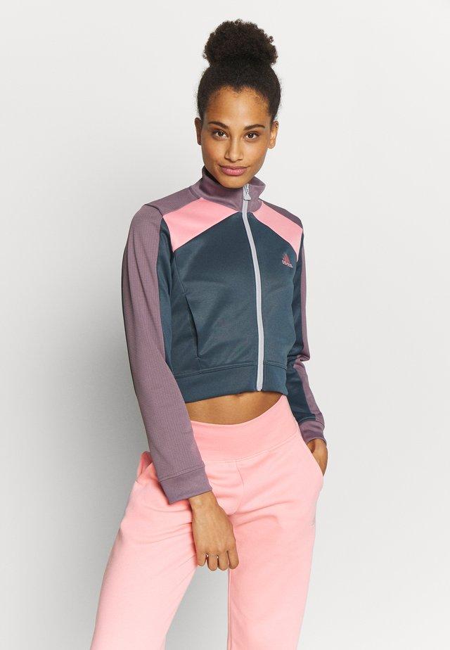 TRACKTOP - Training jacket - blue/purple