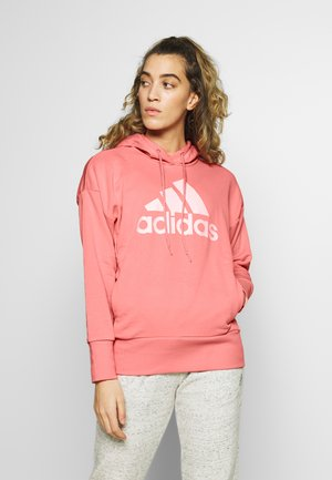 ESSENTIALS SPORT INSPIRED HODDIE SWEAT - Sweat à capuche - pink/white