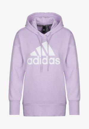 BOS LONG - Jersey con capucha - purple tint/white