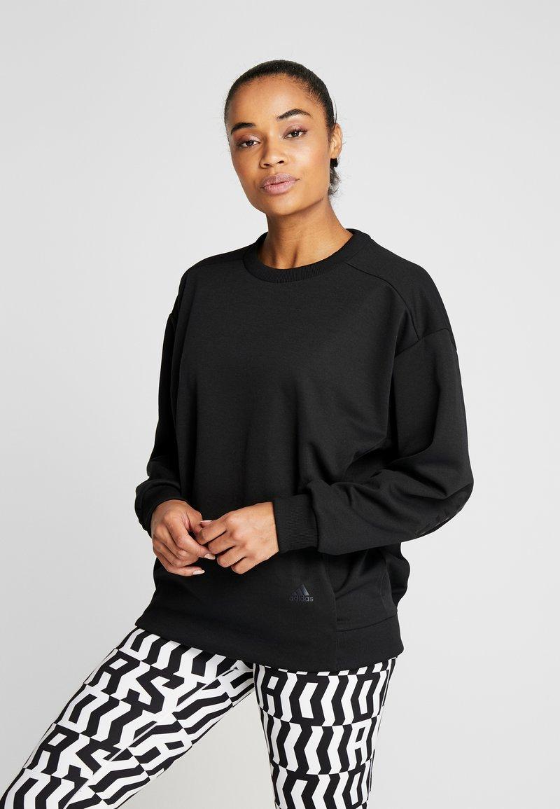 adidas Performance - Sweatshirt - black