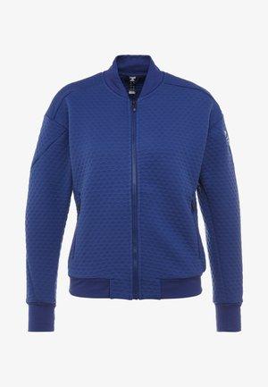 TERREX HIKE FLEECE - Sportovní bunda - dark blue
