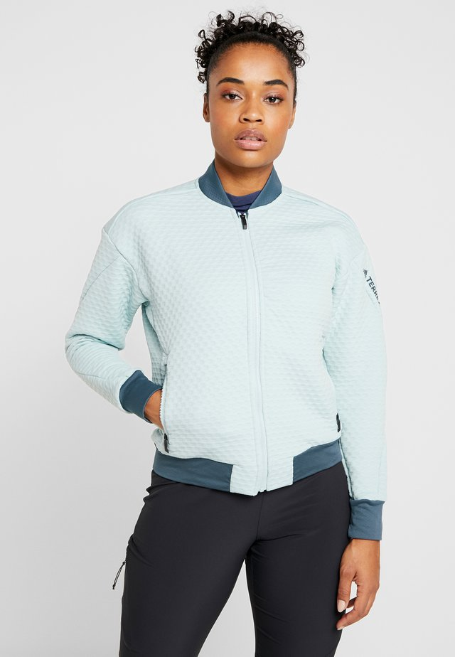 TERREX HIKE FLEECE - Training jacket - mint