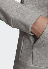 adidas Performance - ESSENTIALS LINEAR HOODIE - Hoodie met rits - grey - 3