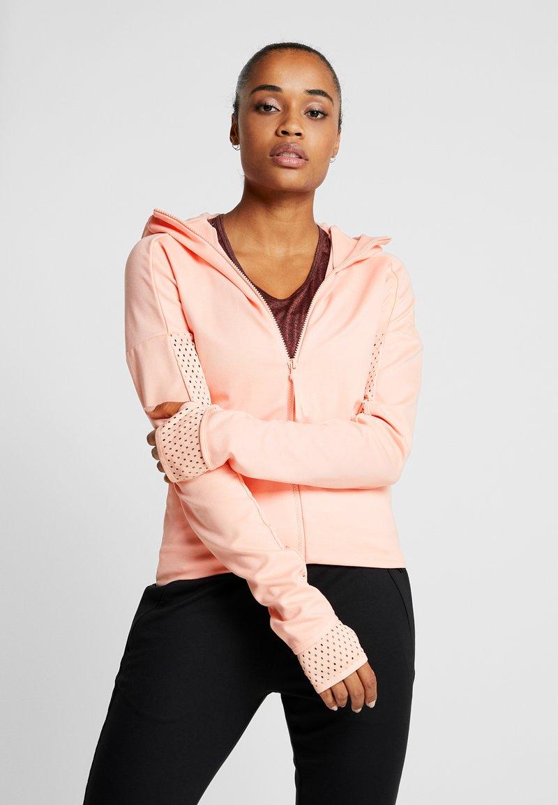 adidas Performance - ZNE - Sportovní bunda - glow pink