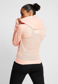 adidas Performance - ZNE - Sportovní bunda - glow pink - 2