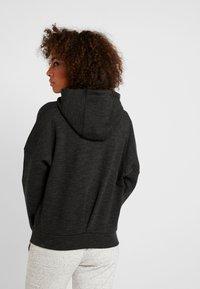 adidas Performance - Zip-up hoodie - black/grey six - 2