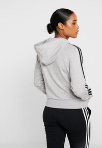 adidas Performance - Hettejakke - medium grey heather - 2