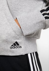 adidas Performance - Hettejakke - medium grey heather - 5