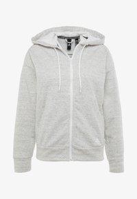 adidas Performance - Hettejakke - solid grey/off white/white - 4