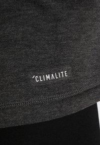 adidas Performance - PRIME HOODIE - Huvtröja med dragkedja - carbon/black - 5