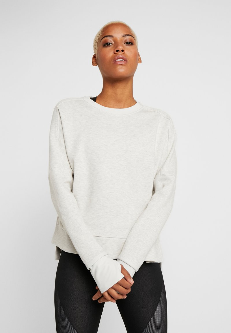 adidas Performance - CREW - Sweatshirt - light grey