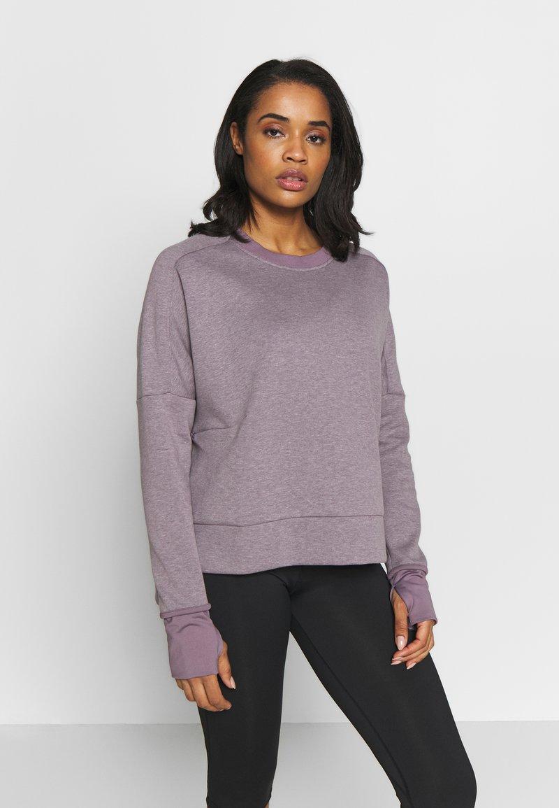 adidas Performance - CREW - Sweatshirt - purple