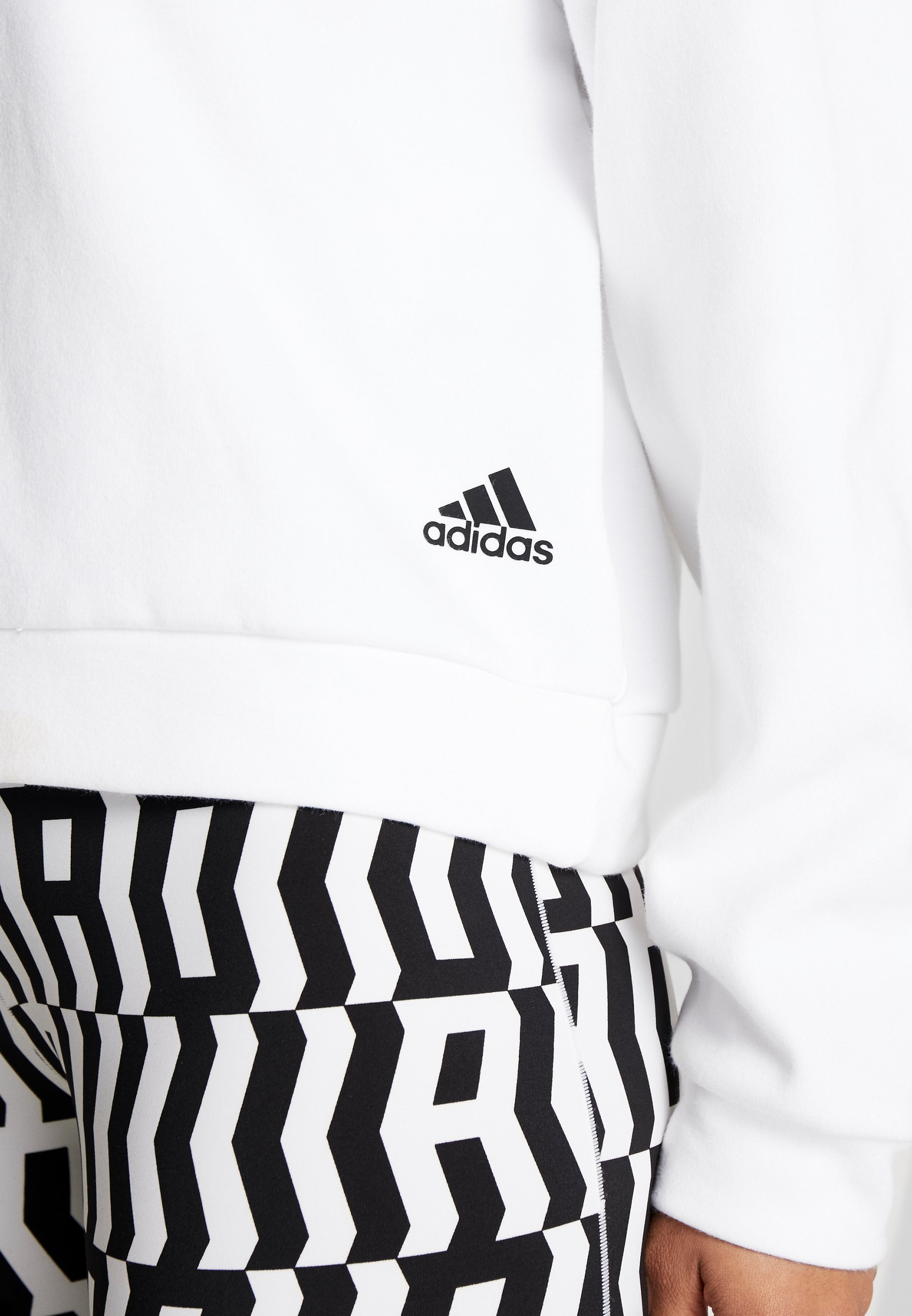 Adidas Performance Crew - Sweatshirt White