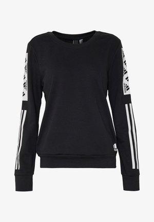 BLOCK CREW - Sweatshirt - black